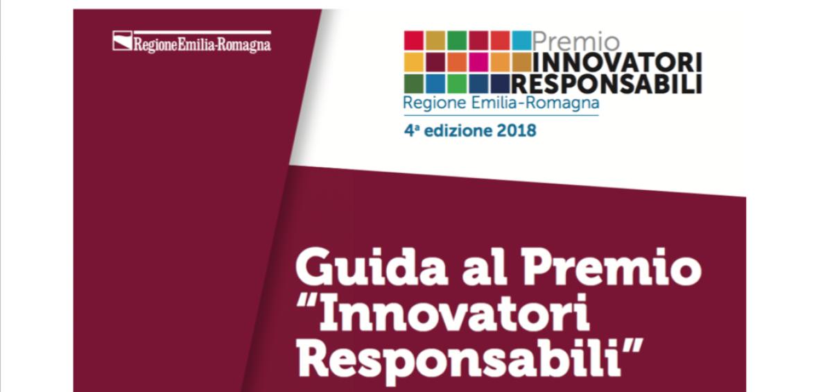Guida al Premio Innovatori Responsabili 2018